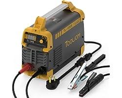 TOOLIOM 195A 110/220V Stick Welder ARC Welding Machine DC Inverter Welder Dual Voltage MMA Welder Digital Display