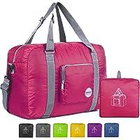 WANDF Foldable Travel Duffel Bag Super Lightweight for