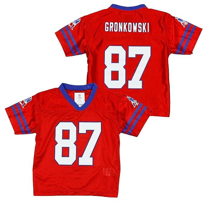 NFL New England Patriots Kids Retro Rob Gronkowski  87 Jersey f177296e8