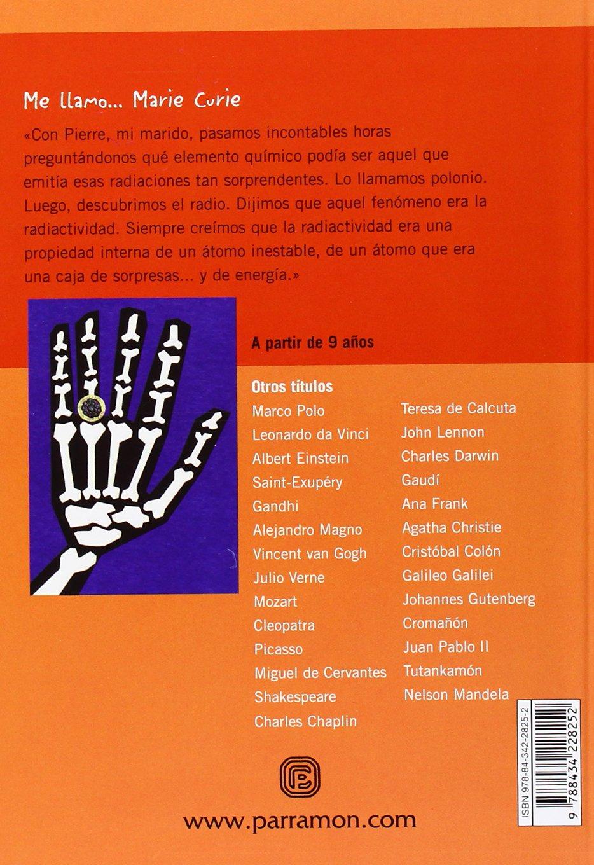 ME LLAMO MARIE CURIE (Spanish Edition) (Me llamo / My name is): Lluís Cugota, Luisa Vera: 9788434228252: Amazon.com: Books