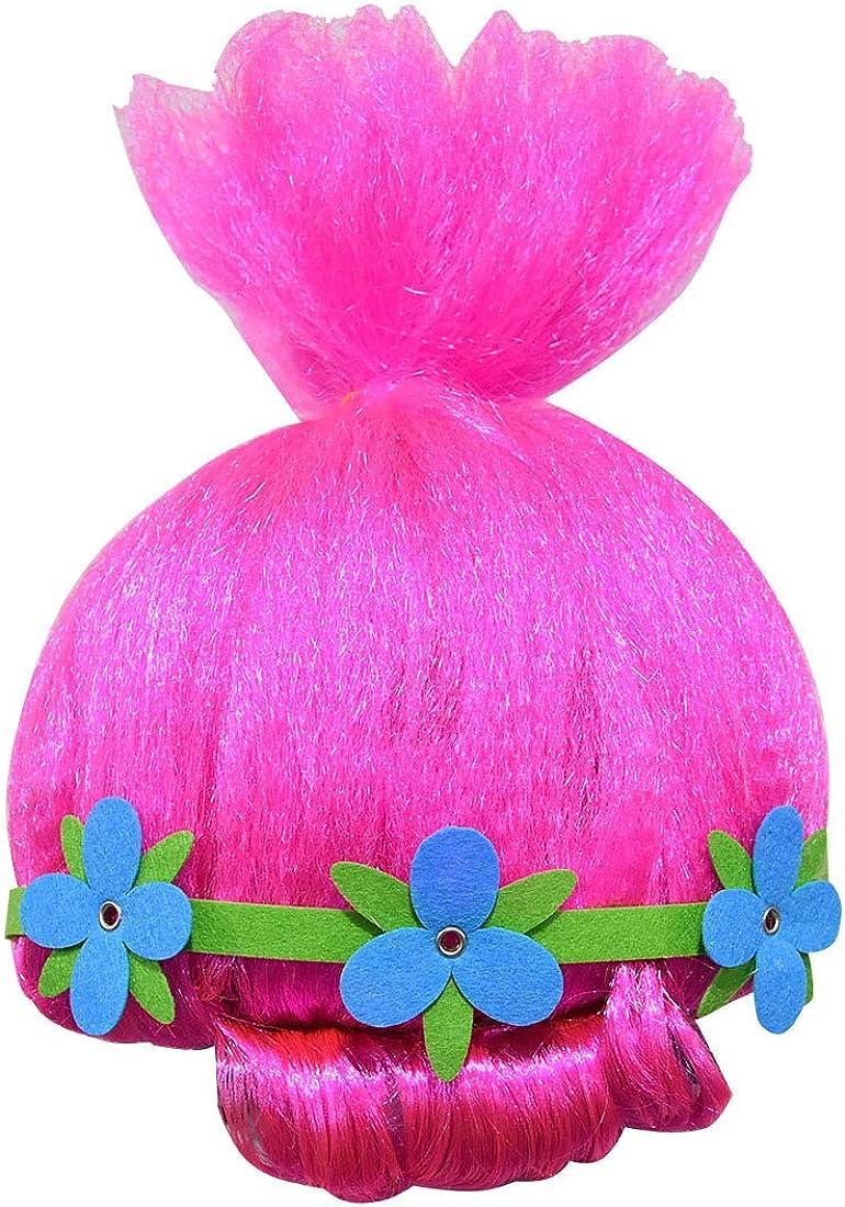 Szytypyl Girls Princess Poppy Dress Halloween Costumes Party Cosplay with Wig