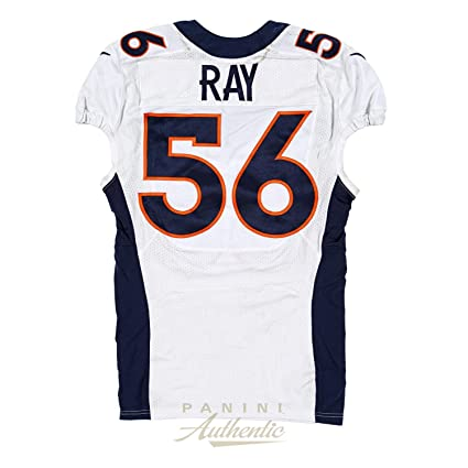 ea80ddd8 Shane Ray Game Worn Denver Broncos Jersey From 9/27/2015 vs the ...