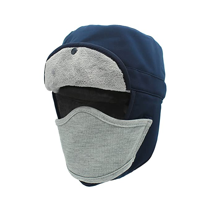 Outfly Impermeabile Ushanka Aviator Cappelli da Sci Cappello da Caccia per  l inverno con paraorecchie 4c395e322b30