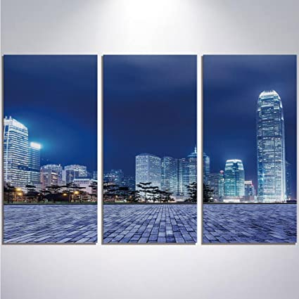 Amazon.com: 3 Pieces Modern Painting Canvas Prints Wall Art For Home ...