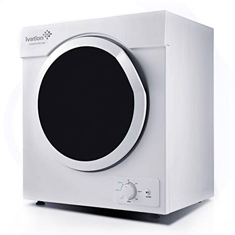 Beau Ivation 3.21 Cu.ft Small Compact Portable Ventless Electric Dryer For  Clothes Laundry   1,500