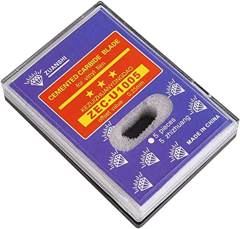 Tiptiper Cuchillas para Cortar el trazador, 15pcs 30 ° 45 ° 60 ° para Roland GCC Cricut Cutting Plotter Vinilo Cutter Cuchillo de Hoja: Amazon.es: Hogar