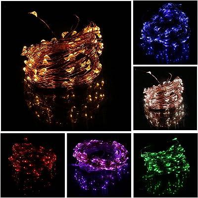 Énergie efficace 15M 150 LED fil de cuivre allume 8 modes intérieur extérieur décoratif à la maison de fête de mariage String Light
