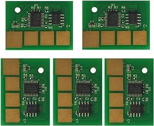 5PCS Universal Chip for Dell 5230dn 5230n 5350dn 5530dn 5535dn MFP cartridge chip (Yield: 7000)