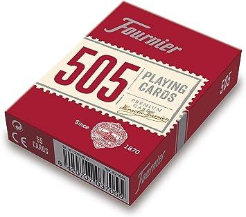 Comprar juego de mesa: Fournier- Nº 505 Baraja Cartas Poker Clásica, Color rojo o azul (F21644) , color/modelo surtido