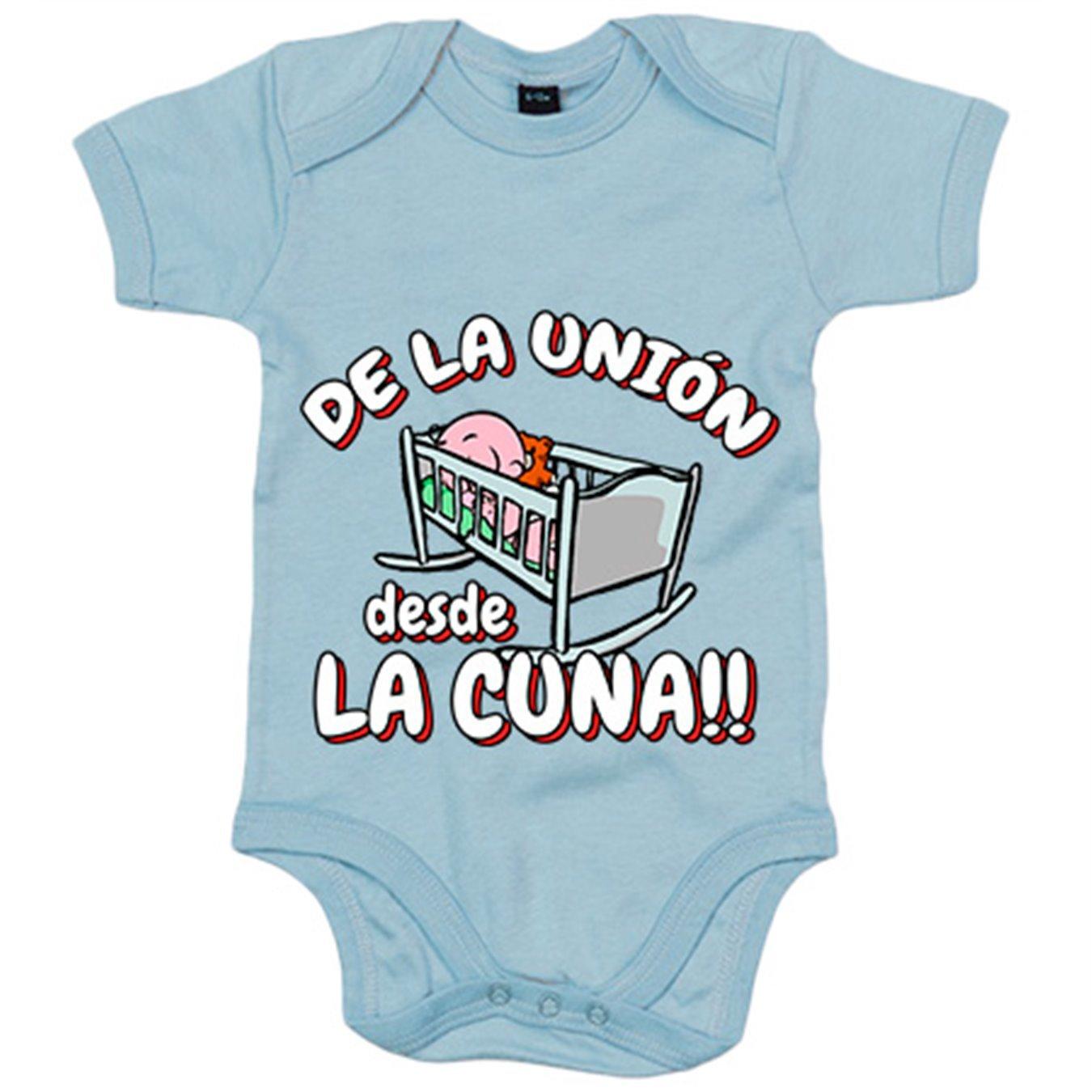 Body bebé De la Unión Almería desde la cuna fútbol - Blanco, 6-12 meses: Amazon.es: Bebé