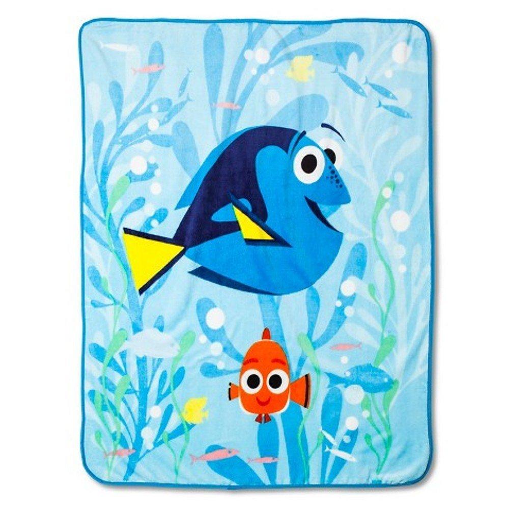 Disney Finding Dory Plush Throw Blanket ~ 50 '' x 60''