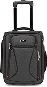 High Sierra Endeavor Wheeled Underseat Carry-On, Mercury Heather, One Size