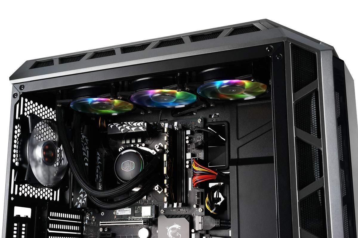 Amazon com: Cooler Master MasterLiquid ML360R RGB Liquid CPU Cooler
