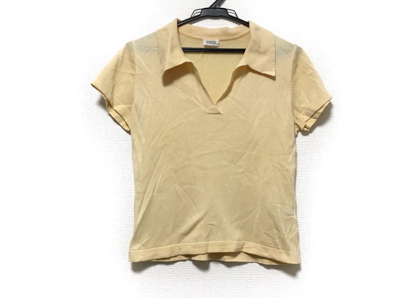 (フォクシー) FOXEY セーター 半袖セーター レディース イエロー 【中古】 B07DWR4GLS  -