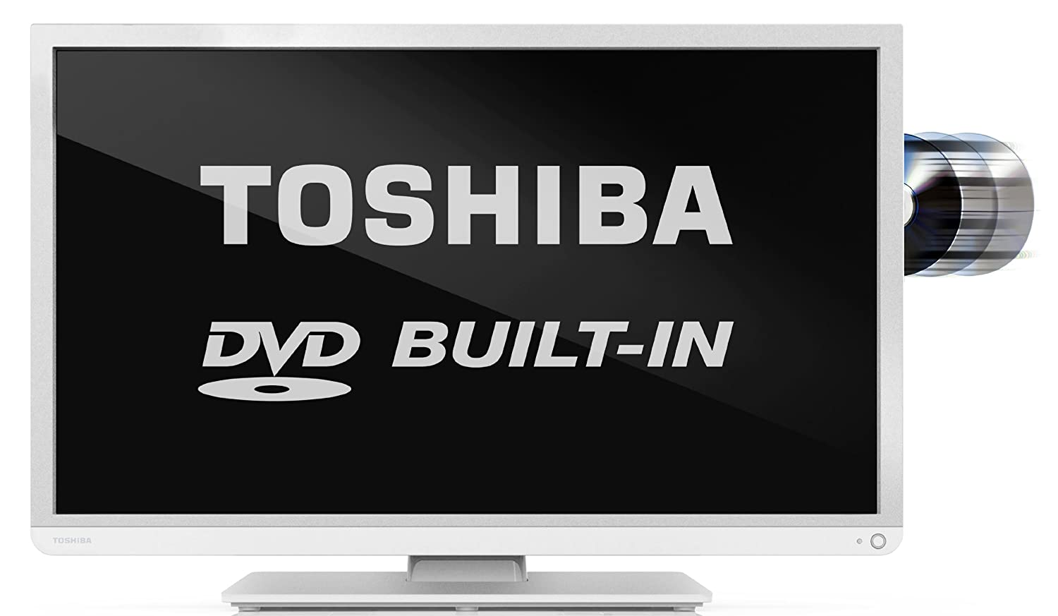 Toshiba 32d1334db 32 Hd Ready Led Tv With Freeview And Built In Wiring Diagrams Dvd Player White