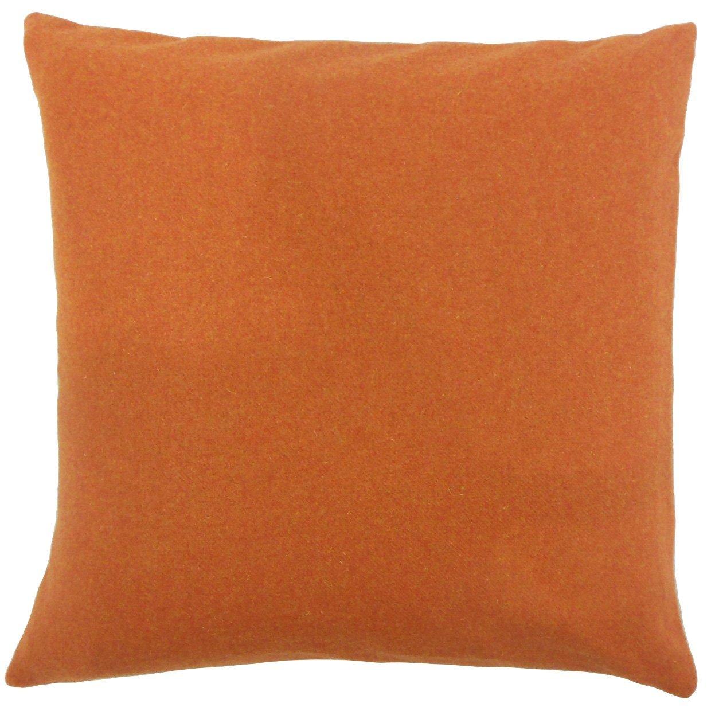 The枕コレクションking-d-dw61167-pumpkin-w65 N20 V15 Vellaソリッド寝具シャム、King / 20