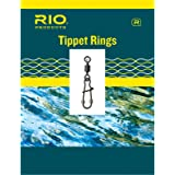 RIO Fly Fishing Trout Tippet Ring Single Pack, Size Small Tackle, Steel