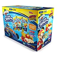 Brothers-ALL-Natural Fruit Crisps, Mickey Mouse Clubhouse Variety, 0.35 Ounce (Pack of 12)