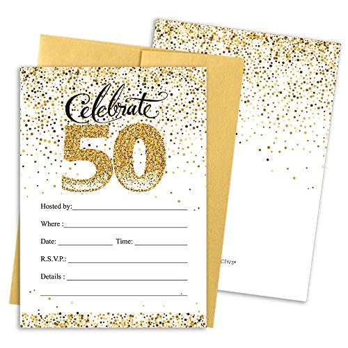 50th Anniversary Invitations Amazon Com