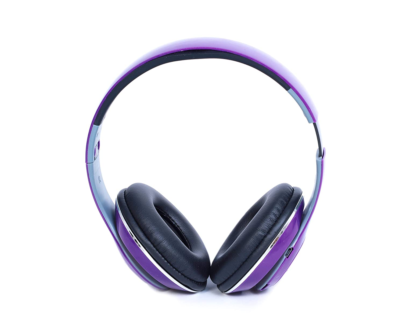 ALPINO Groove On-Ear Bluetooth Headsets (Purple)