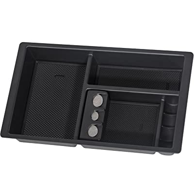OxGord Center Console Insert Organizer Tray for 14-19 Silverado, Tahoe, Suburban, Sierra, Yukon, Escalate - Aftermarket Part Replaces 22817343: Automotive