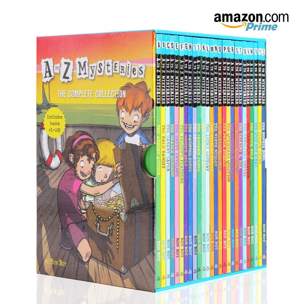 A to Z Mystereis Series 26 Books Set The Complete Collection Dink Josh Ruth Rose.