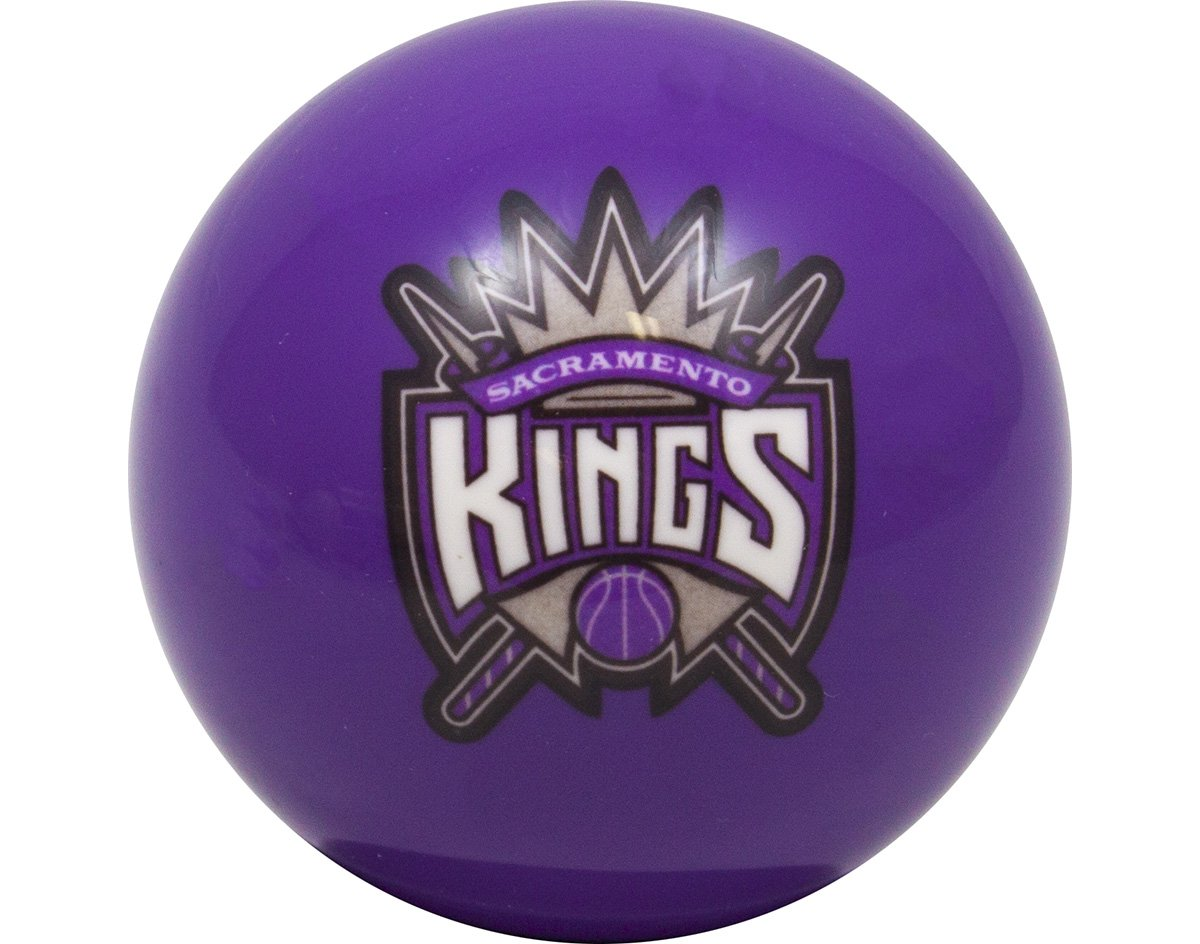 NBA Imperial Sacramento Kings Pool Billiard Cue/8 Ball - Purple