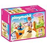 Playmobil 5304 Baby Room with Cradle Doll House - Multi-Coloured