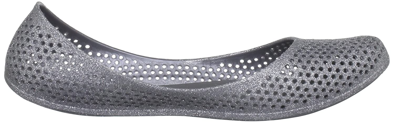 Snow Lizard Mango, Damen Ballerinas , Silber - argento (Silver Glitter) - Größe: 35.5 (3 UK)