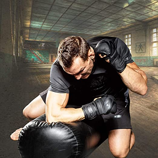 ULTRA WEARS MMA Gloves Kick Boxing Quick Wrap Sparring Grappling Shooting Cage Fighting