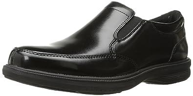 Men's Nunn Bush Mayfield St. Lace to Toe Oxford, Size: 10 W, Black Leather