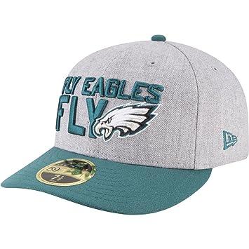 cf38c8eb092 New Era 59Fifty Low Profile Cap - DRAFT Philadelphia Eagles  Amazon ...