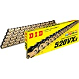 D.I.D 520VX3GB-94 Gold 520VX3 X-Ring Chain 94 Link