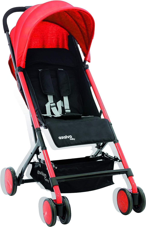 Silla de paseo ligera y super compacta color rojo Foppapedretti Boarding