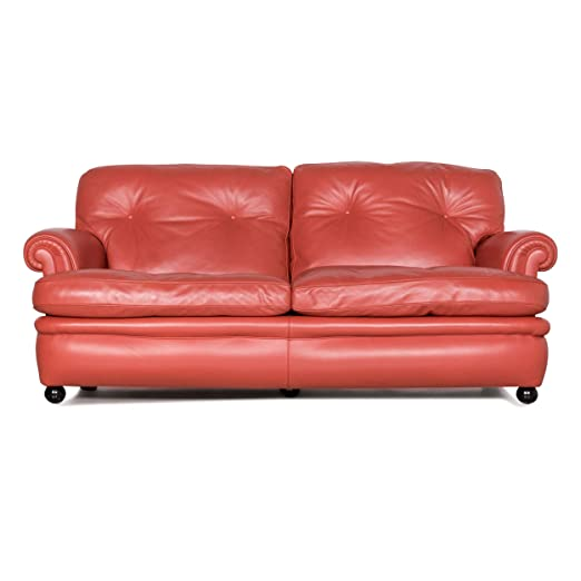 Poltrona Frau Dream On Designer Leder Sofa Orange Zweisitzer ...