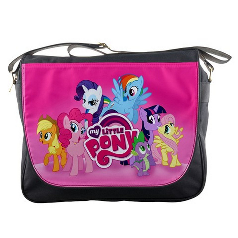 b6b203419c free shipping My Little Pony Unicorn Shoulder Messenger Bag School ...