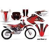 amazon com honda xr650l 1993 2016 mx dirt bike graphic kit sticker