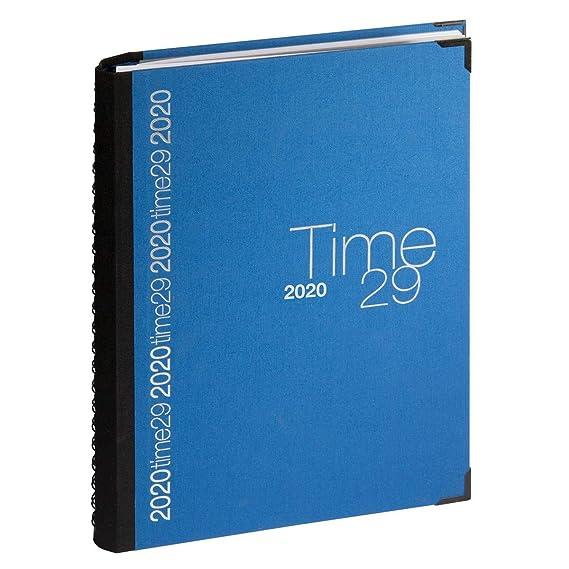 Exacompta 296122e agenda (en espiral Time 29 W lienzo - Agenda de ...