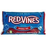 Red Vines Red Licorice Twists, Original Red Flavor, Soft & Chewy Candy, 16 Oz Bag