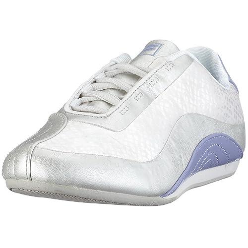Fila Deporte Plateado Color Cuero De Zapatillas Mujer Para ZrxZpq