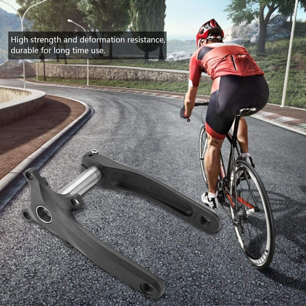 1 Par Juego de Bielas BCD 104mm Piezas de Reparaci/ón de Bielas de Aleaci/ón de Bicicleta de Monta/ña Dioche Bielas MTB