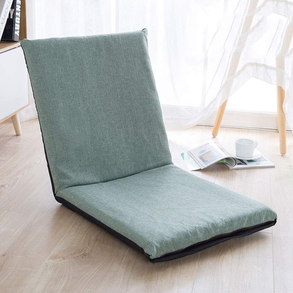 MUHONG Floor Chair with Back Support Floor Chair Fold 5-Speed Adjustment Lounge Recliners (78Cmx38cmx5cm),a,78cmX38cmX5cm by MUHONG