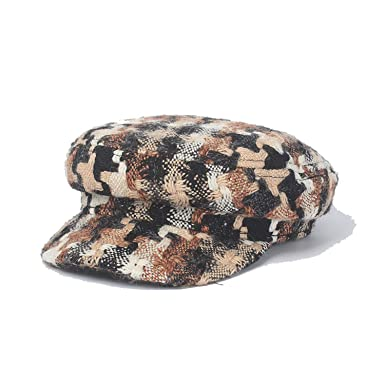 Eric Carl Autumn Winter Camouflage Newsboy Cap for Women Casual Winter Hats Military Cap Gorras Mujer