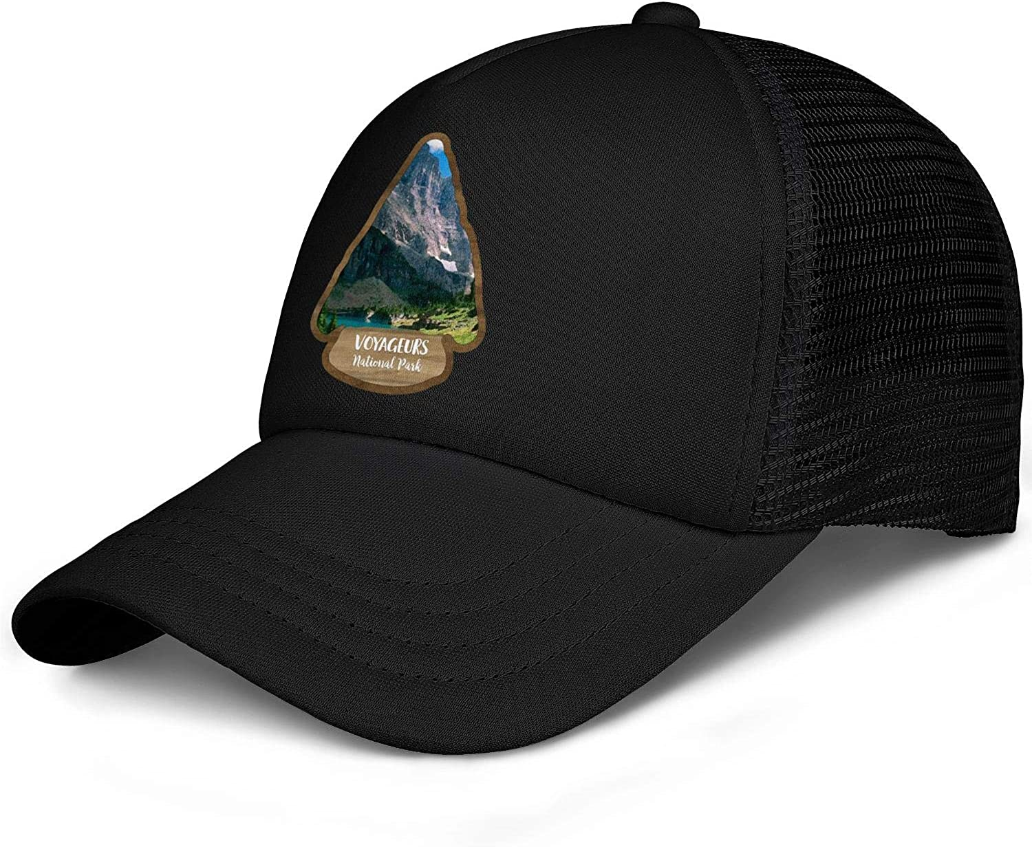 Voyageurs National Park Baseball Hat Mans Woman Adjustable Mesh Sun Flat Caps