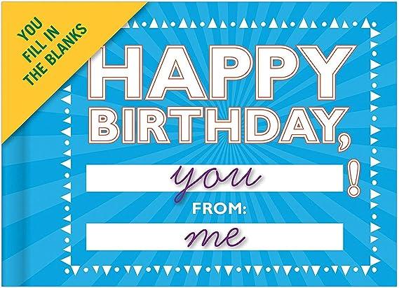 I Got A New Tank For My Birthday Funny Birthday Card Crackerjack Humour Cards