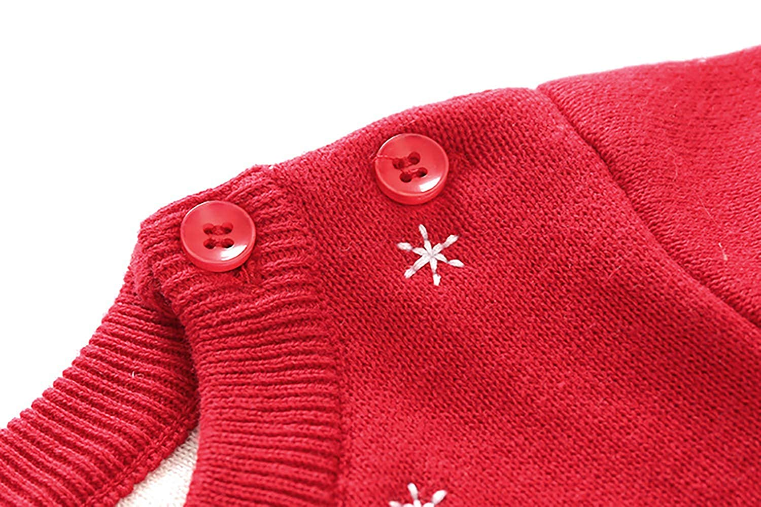 Daytime owl Baby Baby Winter New Thick Quilted Sweater Sweater Jumpsuit Climax Outfit