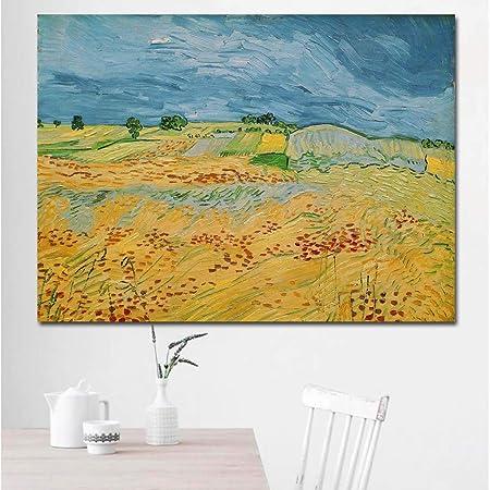 RTCKF Pintura de Paisaje Abstracta, Pintura impresionista ...