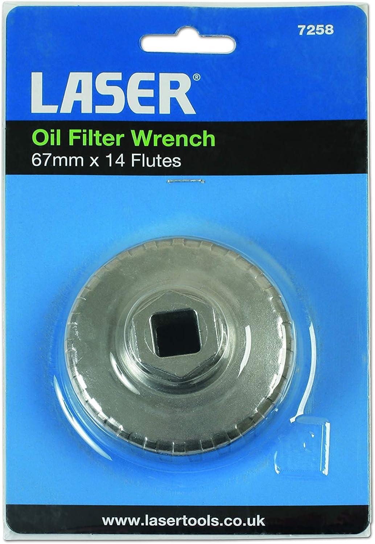 Laser 7258/Filtro olio chiave 67/mm x 14/fl/ûtes