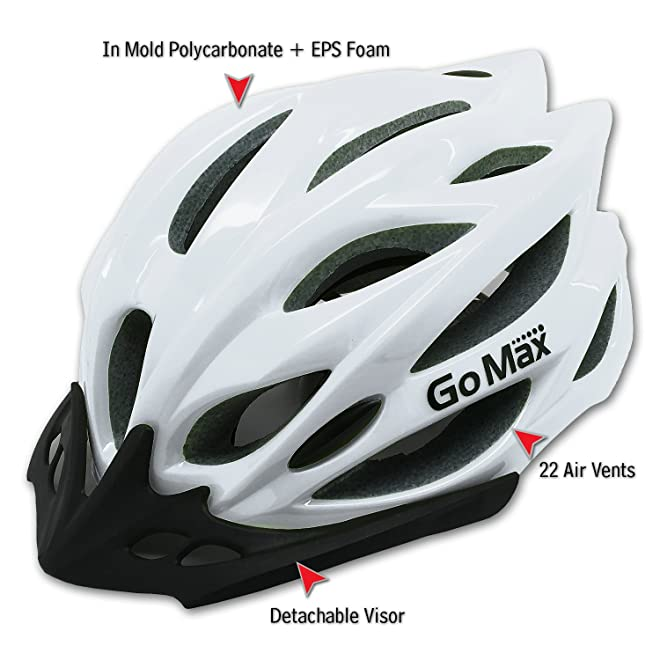 GoMax Aero Adult Safety Helmet Adjustable