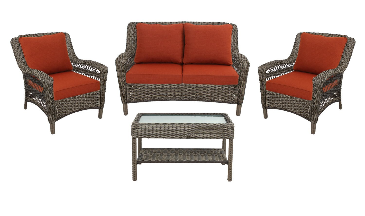 100 [ Threshold Harrison Wicker Patio Furniture ]